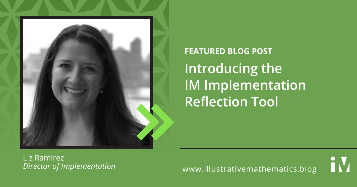 Introducing the IM Implementation Reflection Tool